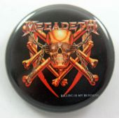 Megadeth - 'Killing is My Business' 32mm Badge
